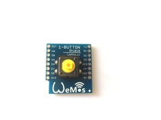 WeMos D1 Mini Button Shield